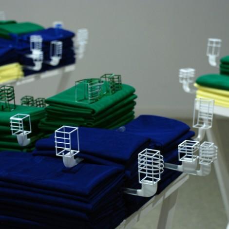 Fabric, acryl, obs... 2010